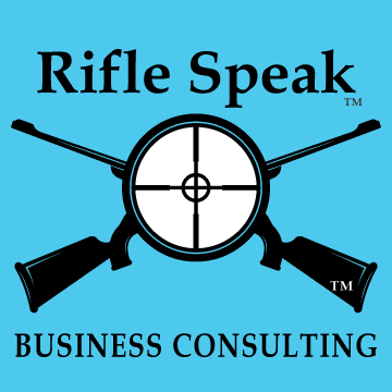 Rifle-Speak-LOGO-Plain-Blk-Wht-BLUE-SQUARE