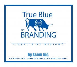 the strong company - gj co - executive command dynamics - true blue branding