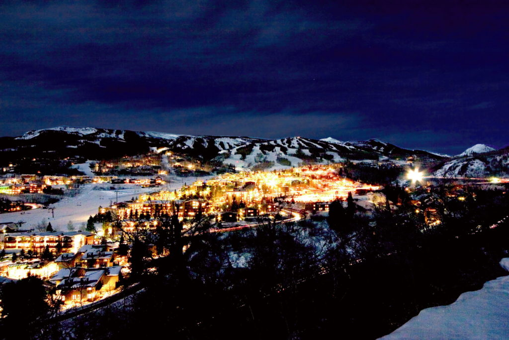 aspen co - snowmass at night - executive command dynamics inc - guy masterson - confidential leadership consultancy